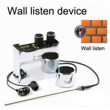 Spy Wall Listening Device