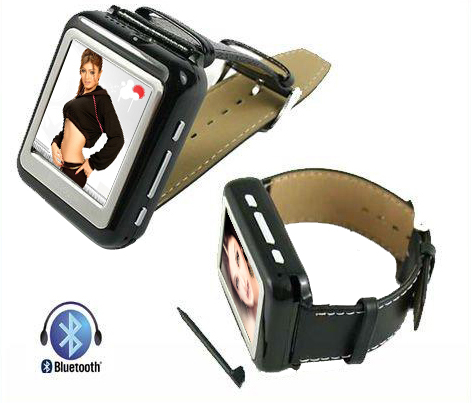 Mobile Watch With Bluetooth And Camera