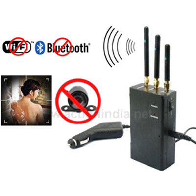 Spy 2.4 Mhz Wireless Camera Jammer