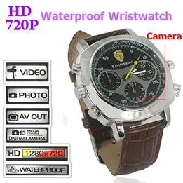Spy 4gb Water Proof Digital Wrist Watch Camera
