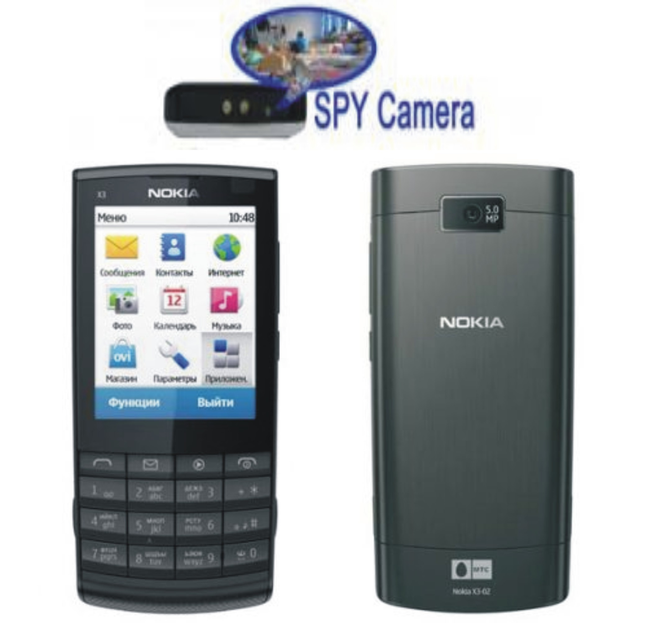 Spy Camera In Nokia Phone Touch Screen