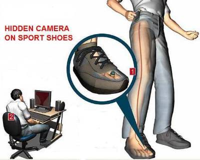 Spy Camera In Sports Shoes in Mumbai