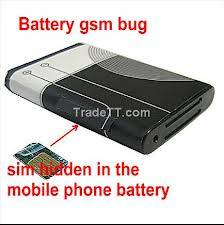 Spy Hidden Mobile Battery Gsm Bug in Mumbai
