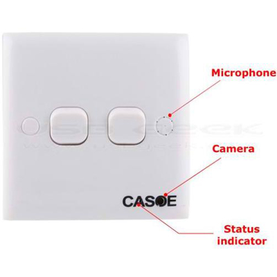 Spy Switch Camera Motion Activated