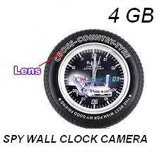 Spy Wall Clock With Remote Control in Mumbai