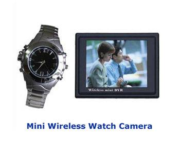 Spy Wireless Watch Camera