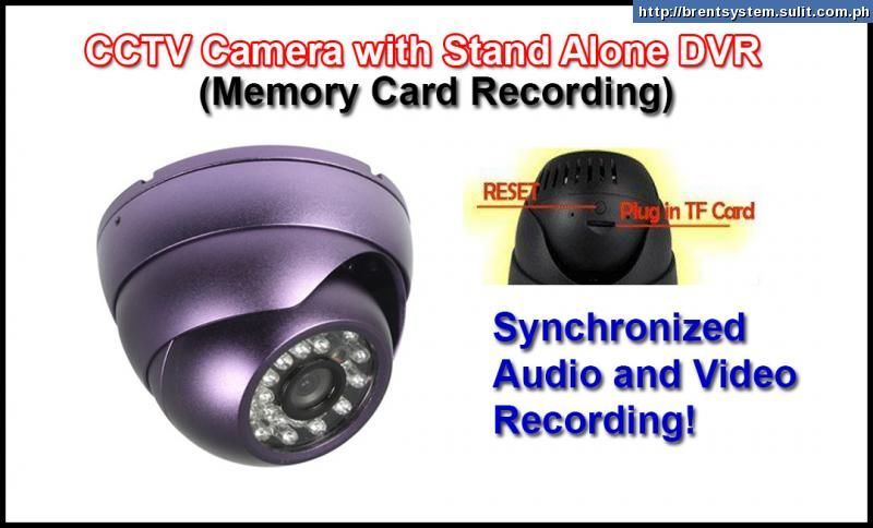 SPY cctv camera with built