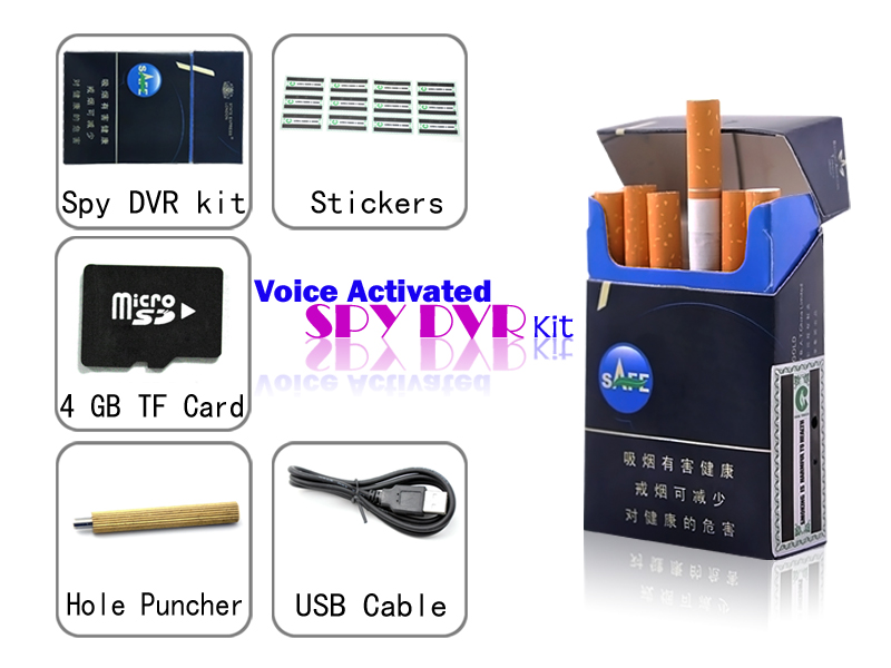 Spy Camera In Cigarette Box