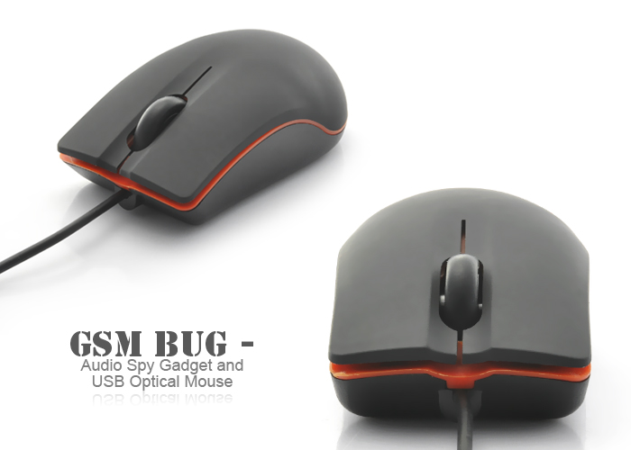 Spy GSM Based Computer Optical Mouse Bug  India