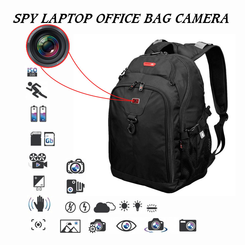 Buy Hidden Spy Camera In Office Laptop Bag For Daily Use