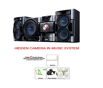 Spy Camera In Sony Music System